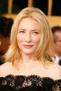 Cate Blanchett at the 64th Annual Golden Globe Awards.