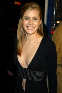 "Amy Adams at the premiere of ""Catch Me If You Can"" in Westwood, California."