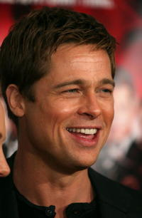 Brad Pitt at the Hollywood premiere of