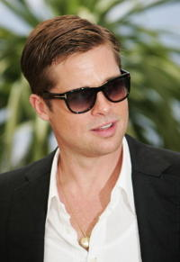Brad Pitt at the Cannes photocall for