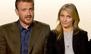 Watch: Jason Segel and Cameron Diaz Give Good 'Sex Tape' Advice