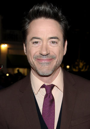 """Robert Downey Jr. at the California premiere of """"Sherlock Holmes: A Game of Shadows."""""""