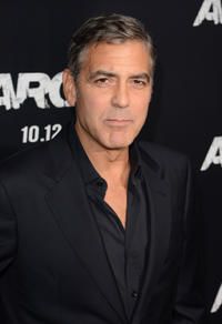 Producer George Clooney at the California premiere of
