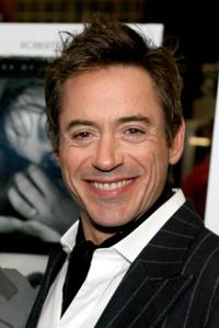 Robert Downey, Jr. at the New York premiere of