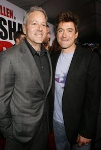 David Hobberman and Robert Downey, Jr. at the Hollywood premiere of