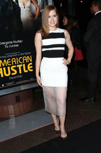 Amy Adams at the Los Angeles premiere of