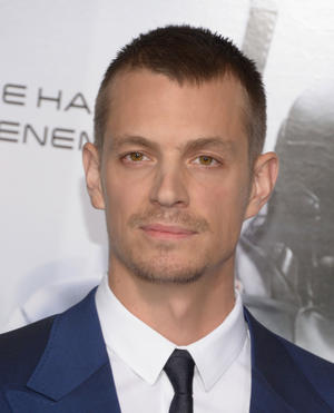 "Joel Kinnaman at the California premiere of ""Robocop."""