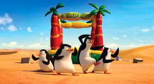 """A scene from """"Penguins of Madagascar."""""""