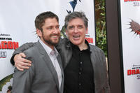Gerard Butler and Craig Ferguson at the Hollywood premiere of