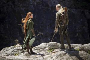 tauriel and legolas in the hobbit