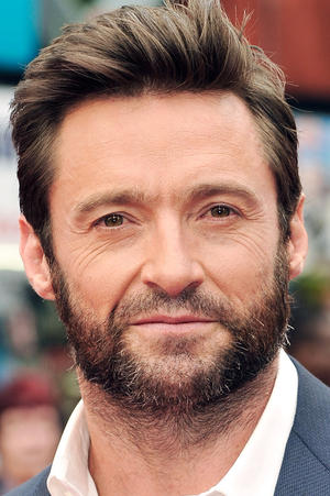 """Hugh Jackman at the UK premiere of """"The Wolverine."""""""