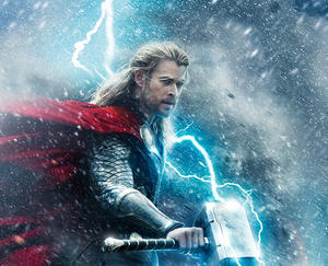 "Chris Hemsworth in ""Thor: The Dark World."""
