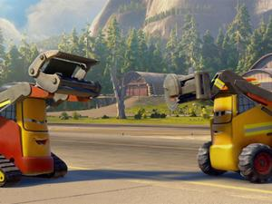 Planes: Fire And Rescue: Dusty Shows Off His Stuff