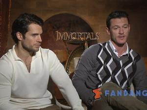 Exclusive: Immortals - Cast interviews