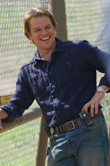 Matt Damon as Benjamin Mee in ``We Bought a Zoo.''