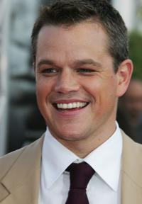 Matt Damon at the premiere of