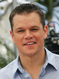 Actor Matt Damon at a photocall in Cannes for