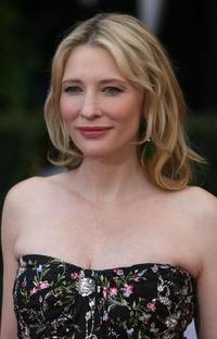 Cate Blanchett at the red carpet of 14th Screen Actors Guild Awards.