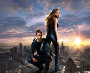 "A scene from ""Divergent."""