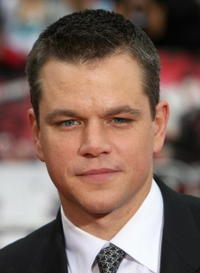 Actor Matt Damon at the Hollywood premiere of