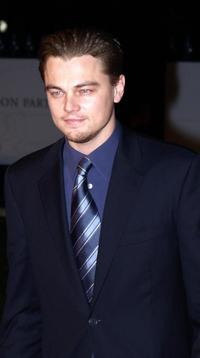 Leonardo DiCaprio at the party on the eve of British Academy Film Awards.