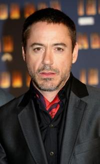 Robert Downey, Jr. at the Rome premiere of
