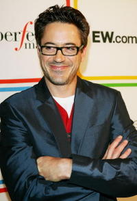 Robert Downey, Jr. at Entertainment Weekly's