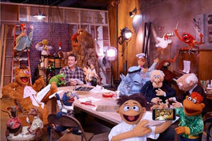 """A scene from """"The Muppets."""""""