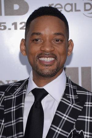 """Will Smith at the New York premiere of """"Men in Black III."""""""
