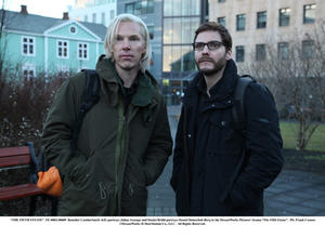 """A scene from """"The Fifth Estate."""""""