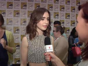SDCC Exclusive: The Mortal Instruments - Lily Collins