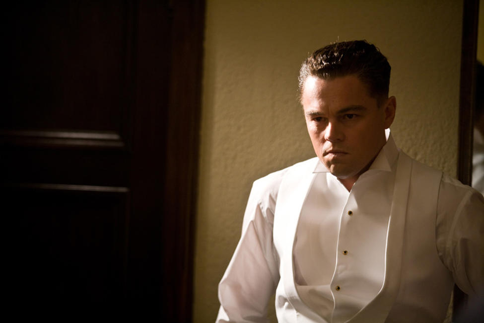 Leonardo Dicaprio as J. Edgar Hoover in