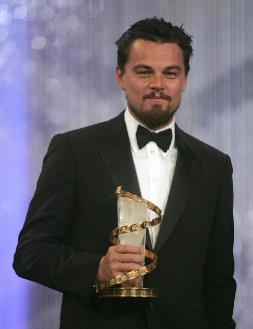 Leonardo DiCaprio at the 7th Marrakesh film festival.