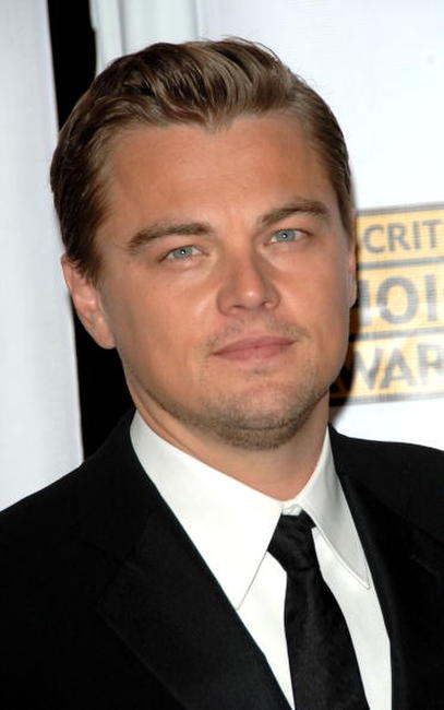 Leonardo DiCaprio at the 12th Annual Critics' Choice Awards held at the Santa Monica Civic Auditorium.