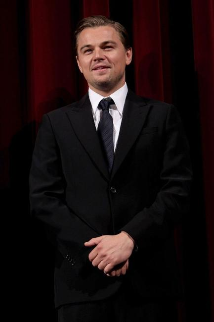 Leonardo DiCaprio at the Berlin premiere of