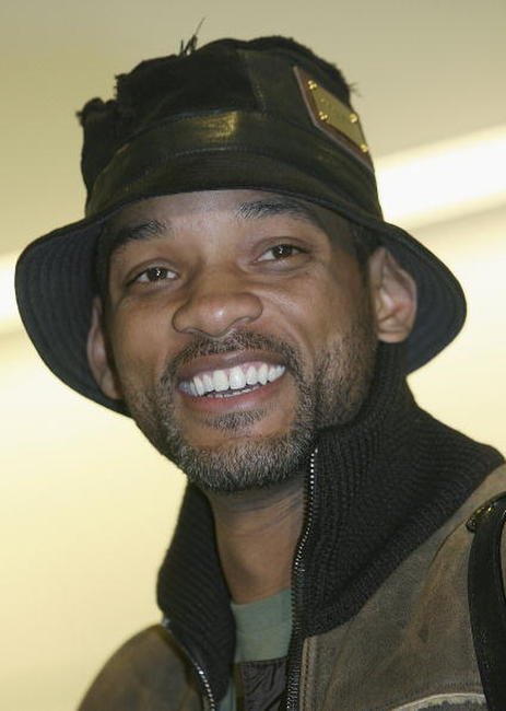Will Smith at New Tokyo International Airport in Japan.