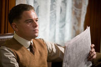 Leonardo DiCaprio as J. Edgar Hoover in ``J. Edgar.''