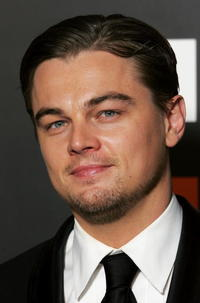 Leonardo DiCaprio at the awards room at The Orange British Academy Film Awards 2005.