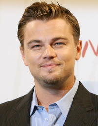 Leonardo DiCaprio at a photocall in Rome for