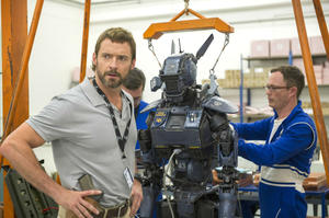 Hugh Jackman in Chappie