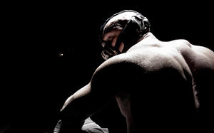 """Tom Hardy as Bane in """"The Dark Knight Rises."""""""