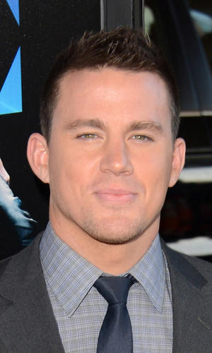 "Channing Tatum at the California premiere of ""Magic Mike."""