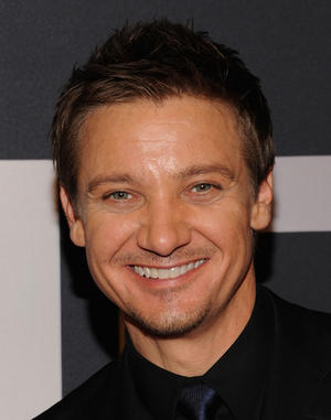 "Jeremy Renner at the New York premiere of ""The Bourne Legacy."""