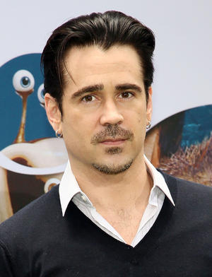 "Colin Farrell at the New York premiere of ""Epic."""