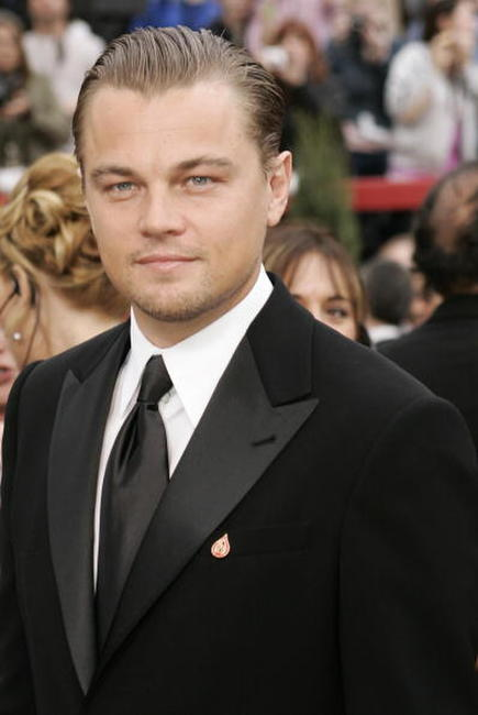 Leonardo DiCaprio at the 79th Academy Awards in Hollywood.