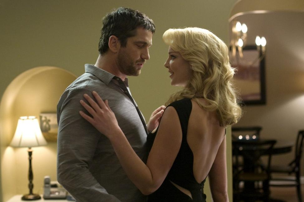 Gerard Butler and Katherine Heigl in