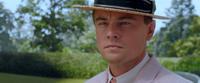 Leonardo DiCaprio as Jay Gatsby in