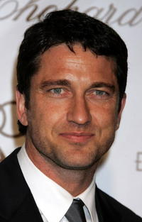 Gerard Butler at the 14th Annual Elton John Academy Awards viewing party in West Hollywood.