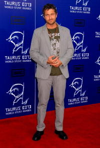 Gerard Butler at the 7th Annual Taurus World Stunt Awards In Los Angeles