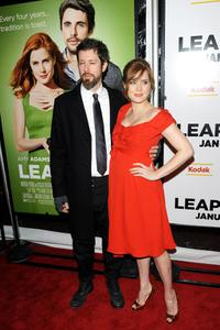 Darren Le Gallo and Amy Adams at the New York premiere of